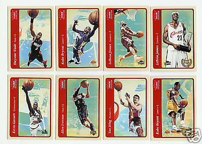 2004-05 Fleer Tradition Basketball Set - W/O Rookies - 220 Cards