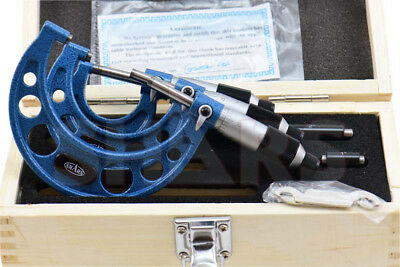 """Out of Stock 90 Days SHARS 0 - 3"""" MICROMETER SET .0001"""" CARBIDE GROUND"""