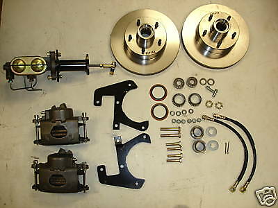 58 59 60 61 62 Corvette Front Disc Brake Conversion
