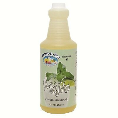 Fruit-N-Ice Mojito Blender Frozen Mix 3:1 Bottles