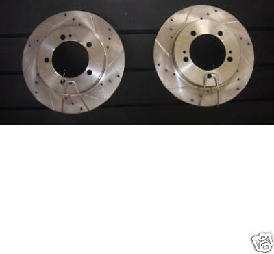 Mitsubishi Fto Gp Gpr Gpx Mivec Rear Drilled Grooved Brake Disc