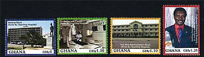 Ghana 2009 Korle Bu Teaching Hospital 4v NEW ISSUE MNH