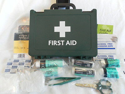 10 Person Small Wall Fitting HSE Office Shop First Aid Kit