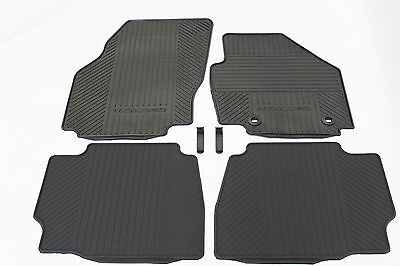 New Genuine Ford Mondeo Rubber Car Mats Front & Rear Mk4 2007 - 2012