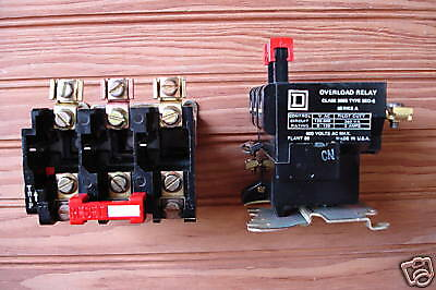 Square D Motor Overload Relay Type 9065SEO5