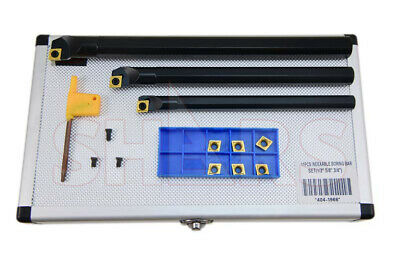 1/2 5/8 3/4 Sclcr Indexable Boring Bars Insert Ccmt Set