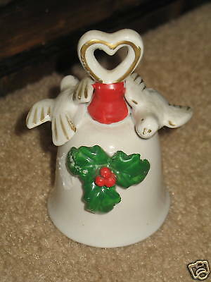 Christmas Bell Holly with 2 Doves