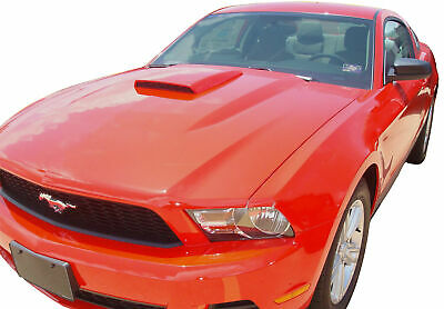 05-09 Ford Mustang Front Center Air Hood Scoop Vent Painted D3 TORCH RED