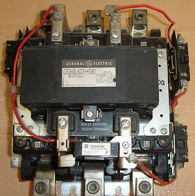New General Electric 200 amp Lighting Contactor 120v coil Same Day Shipping