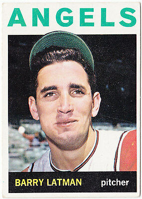 Jewish Americana, Barry Latman, Los Angeles Angels 1964