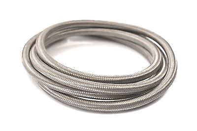 -4 AN Braided Stainless Steel Fuel Line Hose 1500 PSI