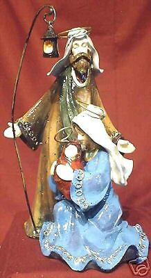 """Holy Family 10"""" porcelain Figurines"""
