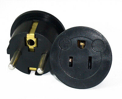 GS20 North American to European Plug Adapter