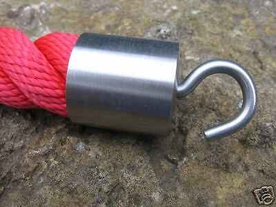 Rope End Fitting with hook  for 30mm Hand Rail