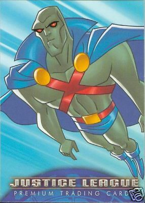 JUSTICE LEAGUE 2003 Promo Card NM/M!!! # 7 of 7 Inkworks