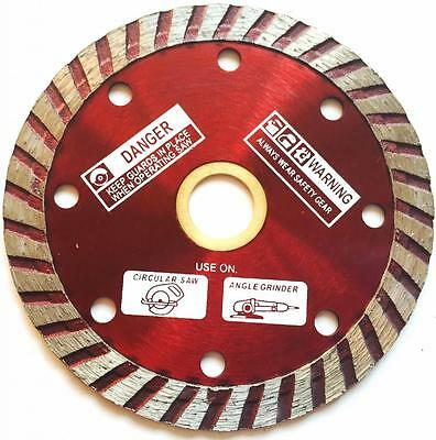 "5"" TURBO DIAMOND BLADE FOR ANGLE GRINDER (Buy 8 get 1 free)"