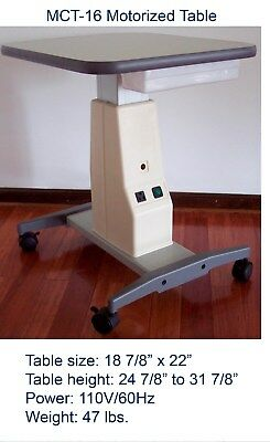 MCT-16 Motorized Table/Brand New/NR