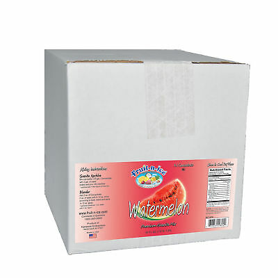 Fruit-N-Ice Frozen Drink Watermelon Granita Mix Case FREE SHIPPING