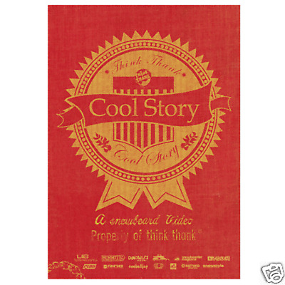 Cool Story snowboard DVD Think Thank All region New