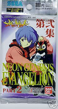 Evangelion Part 2 trading cards - 10 card pack