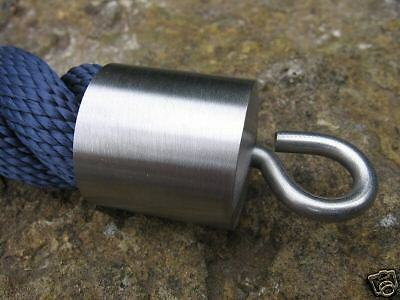 Rope End Fitting with Ring  for 30mm Hand Rail