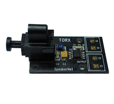 TOSLINK Optical Input to Coaxial S/PDIF Module