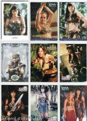 Xena & Gabrielle - Promo Card Collection Set Of 13 Cards
