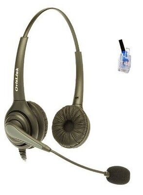 HS72-P1.BL-Wired Adjustable Headset Aastra 480i Nortel
