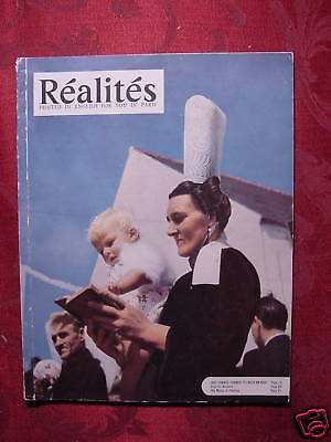 RÉALITÉS REALITES Magazine January 1953 FAITH GILBERT CESBRON ++