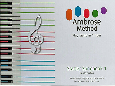 Adult Beginners Music Book. Learn to play piano keyboard 1 hour.   GUARANTEED