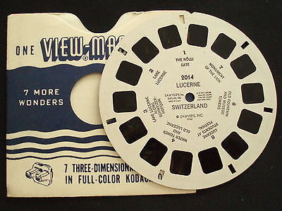 VIEWMASTER~# 2014~LUCERNE SWITZERLAND~1948