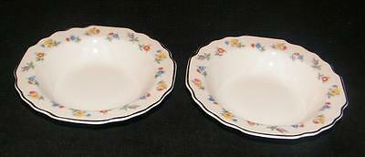 "PARSEME W S GEORGE WHITE LIDO 5 3/4"" FRUIT DESSERT BOWL"