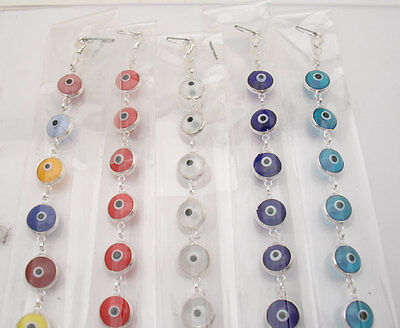 WHOLESALE 5 PCS Evil Eye Bracelet 925 Sterling Silver
