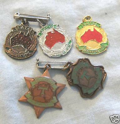 Five Different Australian Teachers Of Dance Badges