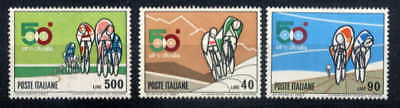 Italy 1967 Bicycles - Cycling Set Mint Complete!
