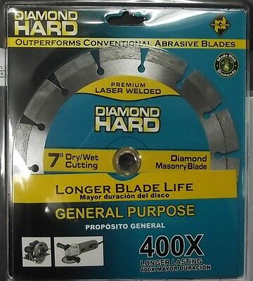 "Planet Diamond 21307020 7"" Diamond Segmented Saw Blade 400X"