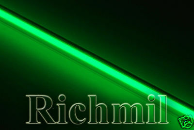 "Replacement 12"" Green Cold Cathode Tube / Interior Neon"