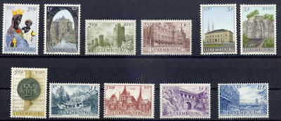 Luxembourg 1963 Millennium Of Luxembourg City Mint Complete Set!