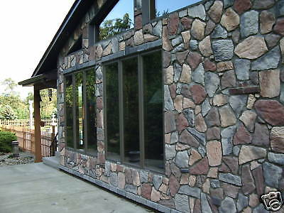 50 Concrete Fieldstone Molds Make 100s Of Stones For Fireplace Patio Pavers  Rock