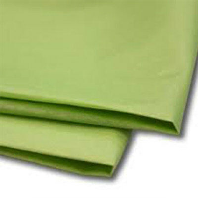 50 Sheets Lime Green Tissue Paper 500x750 Acid Free