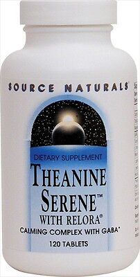 SOURCE NATURALS Theanine Serene™ with Relora® 120 Tabs