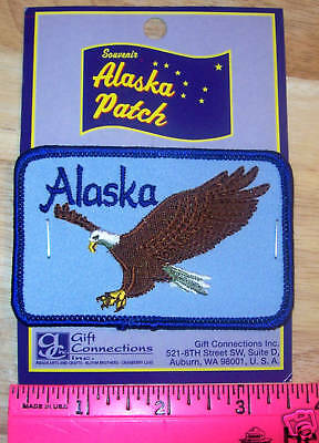 Alaskan Bald Eagle Embroidered patch