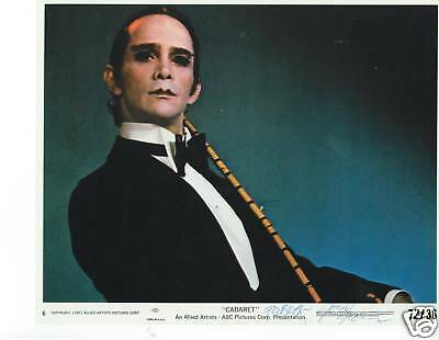 Joel Grey signed photo/still from Cabaret. Academy Award for Best SupportingRole