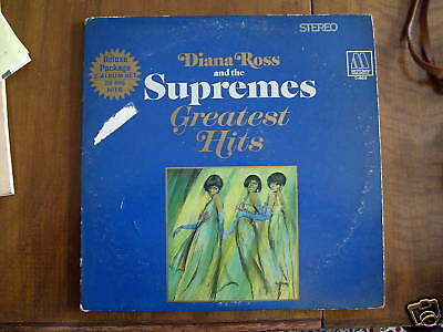 1967 DIANA ROSS AND THE SUPREMES GREATEST HITS 2 RECORD