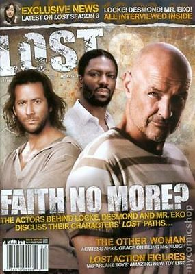 Lost Official Magazine - Locke- Eko - Desmond Cover + Others # 8A