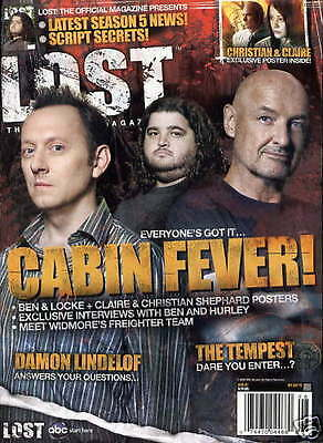 Lost Official Magazine - Cast Cover - Ben & Locke - Claire & Christian # 17A