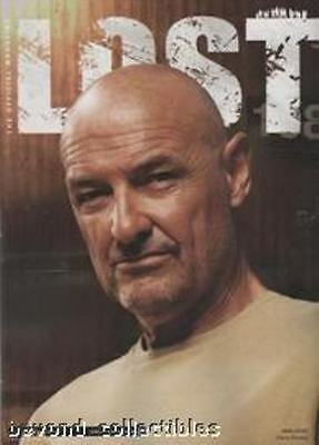 Lost Official Magazine - Terry Locke O'quinn Limited Edition Variant Cover  # 5B