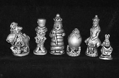 The Alice in Wonderland Chess Set (set only)
