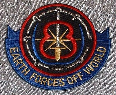 Babylon 5 Earth Forces Off World PATCH