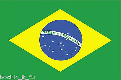 ***brazil Brazilian Vinyl Flag Decal / Sticker***